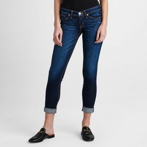 NWOT Hudson Tally Crop Skinny Jean Denim Sz 25